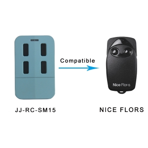 Universal Nice-Flor garage door remote