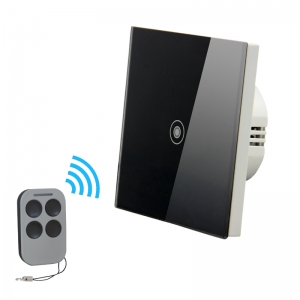 1gang 1way remote control touch switch